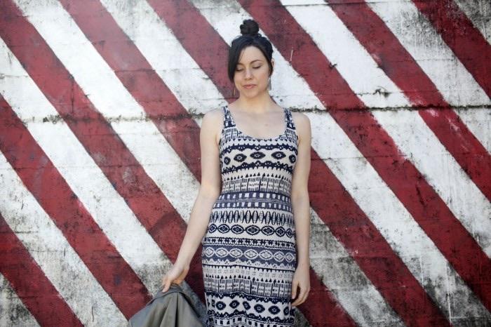Ada Spragg // DIY Tribal Maxi Dress
