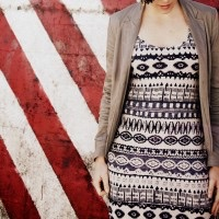 D.I.Y Tribal Side-cinched Maxi