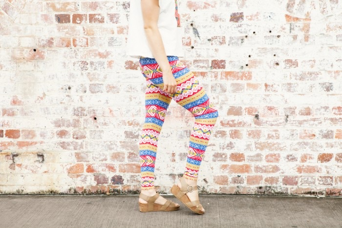 DIY Tribal Leggings by Ada Spragg