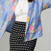 Tokyo Kimono Jacket + Dot Mini