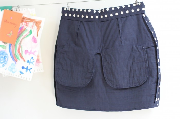 Ada Spragg // DIY Vogue 1247 skirt