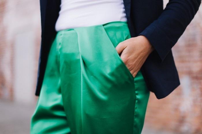 Ada Spragg // DIY Pleated Silk Pants