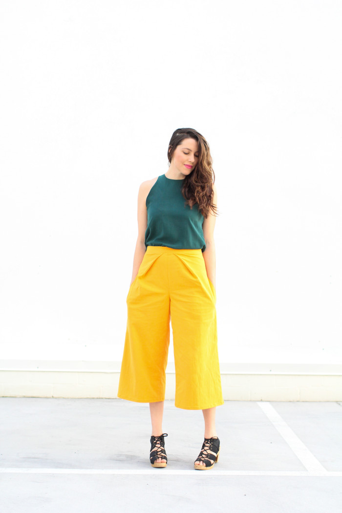ADA SPRAGG | Not Your Nanna's Sewing | DIY Culottes