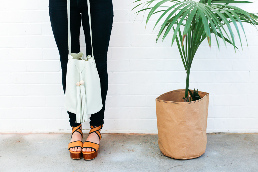 DIY Leather Bucket Bag | Ada Spragg