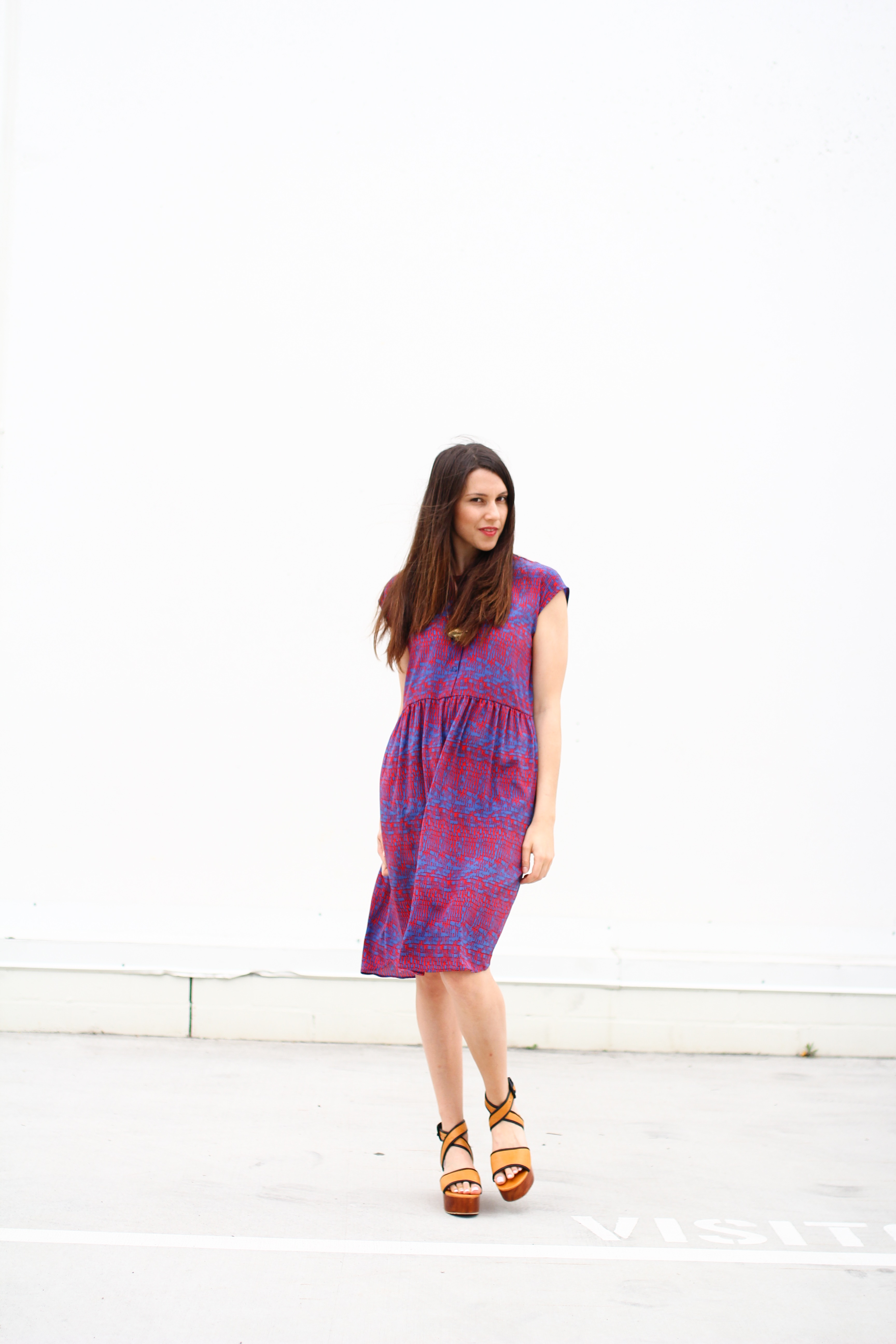 Drop Shoulder Dress | ADA SPRAGG | www.adaspragg.com