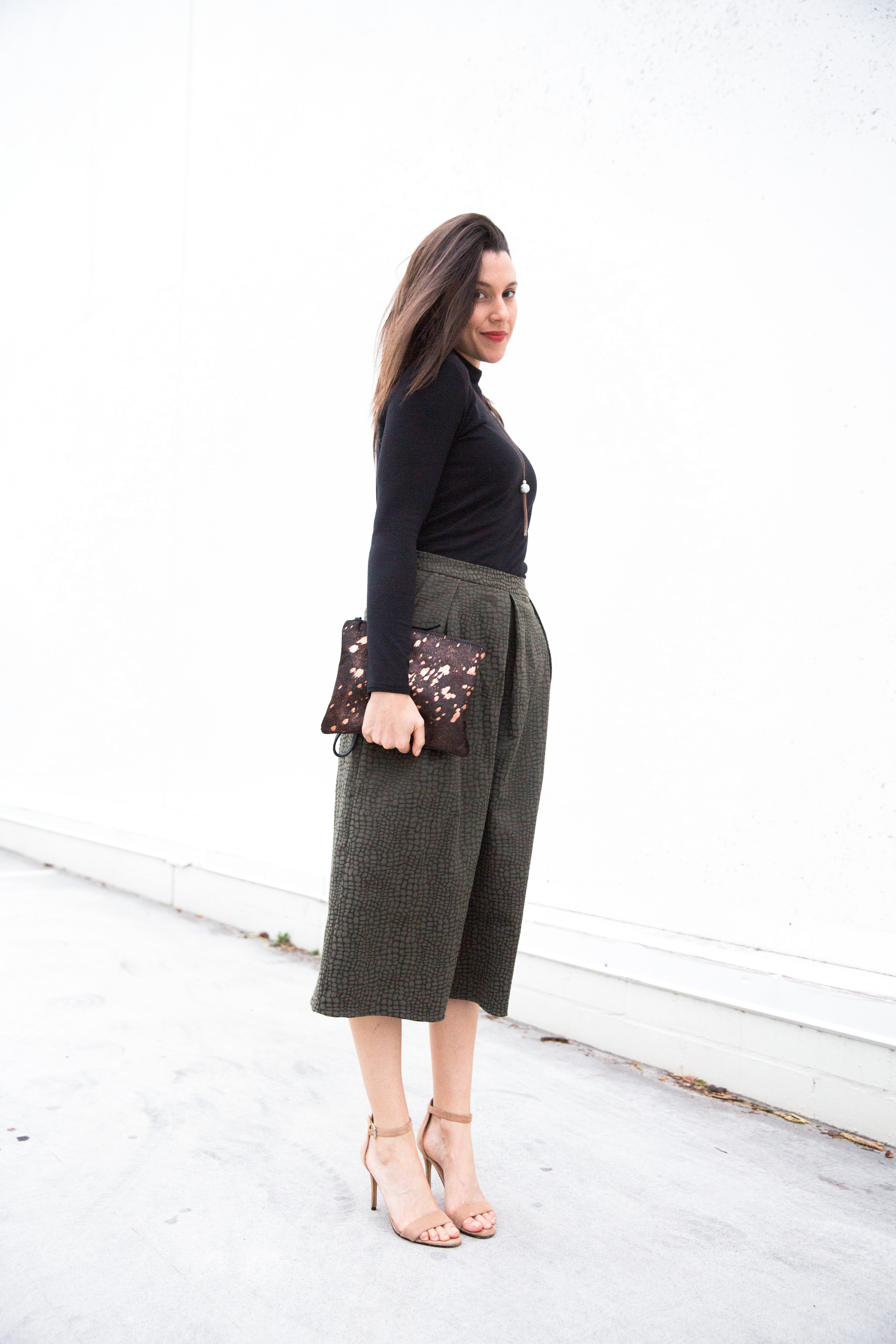 DIY Culottes + Turtleneck | ADA SPRAGG | Not Your Nanna's Sewing