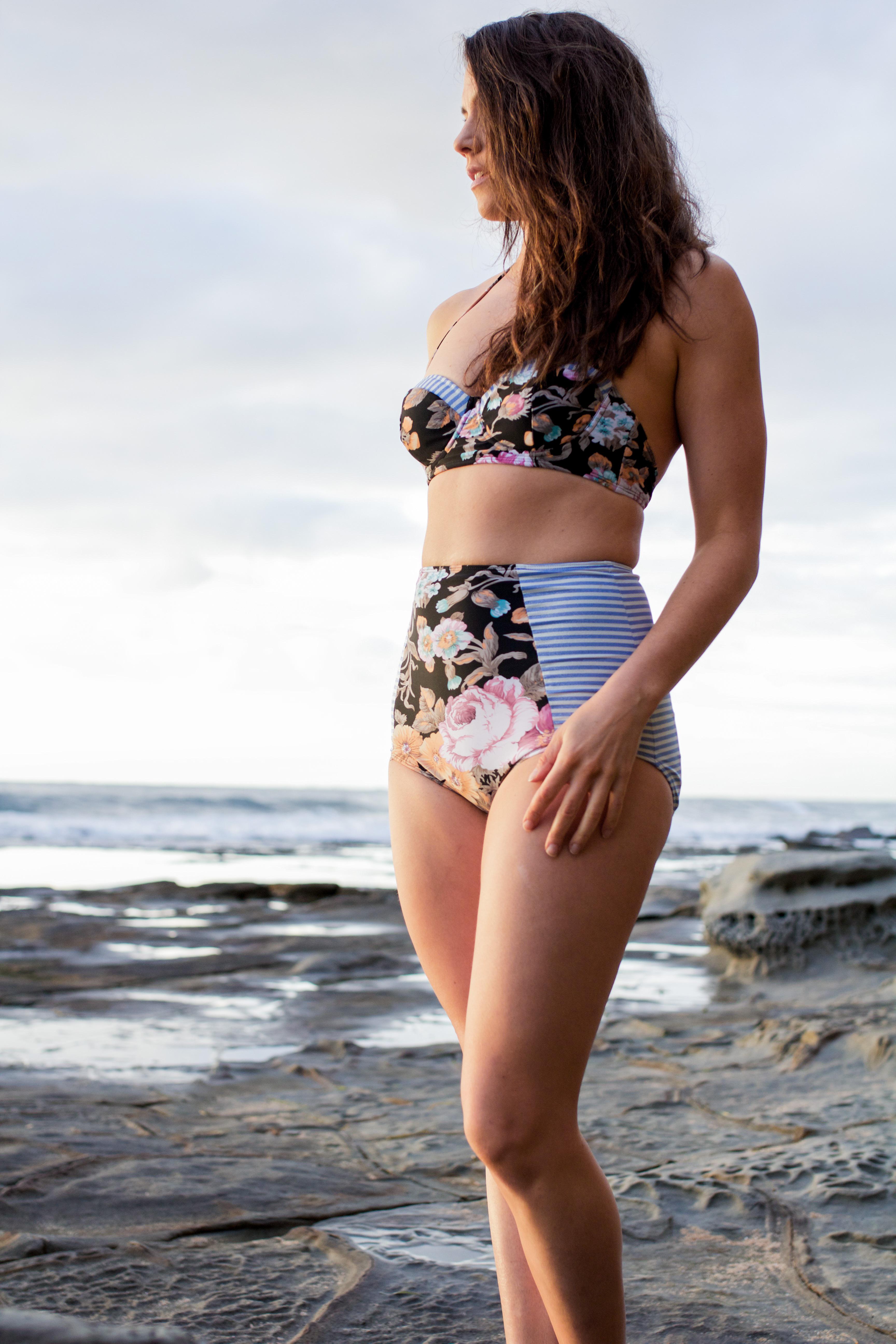 DIY Bustier Bikini | A D A S P R A G G | www.adaspragg.com